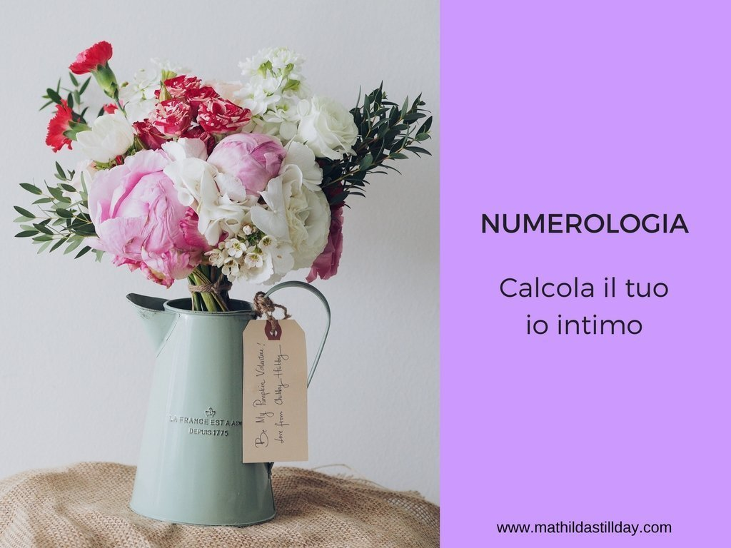 numerologia - io intimo