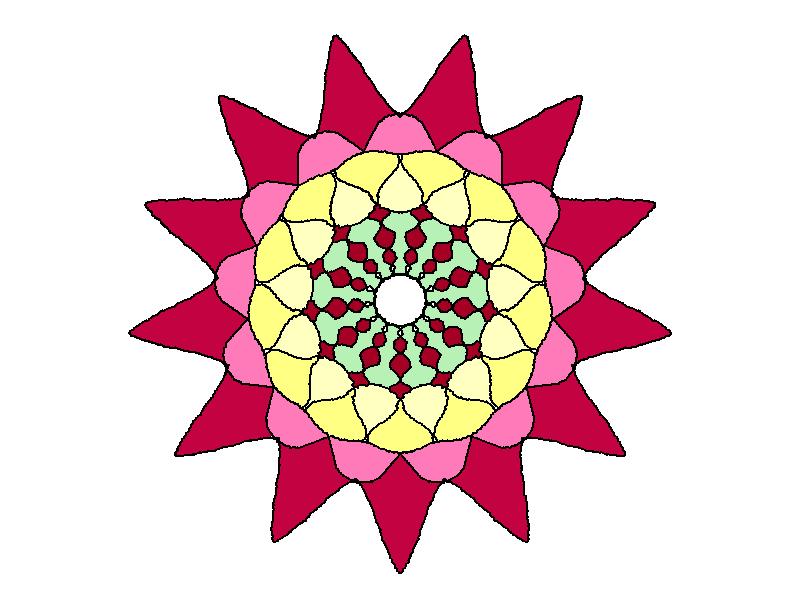 Mandala da colorare per le vacanze