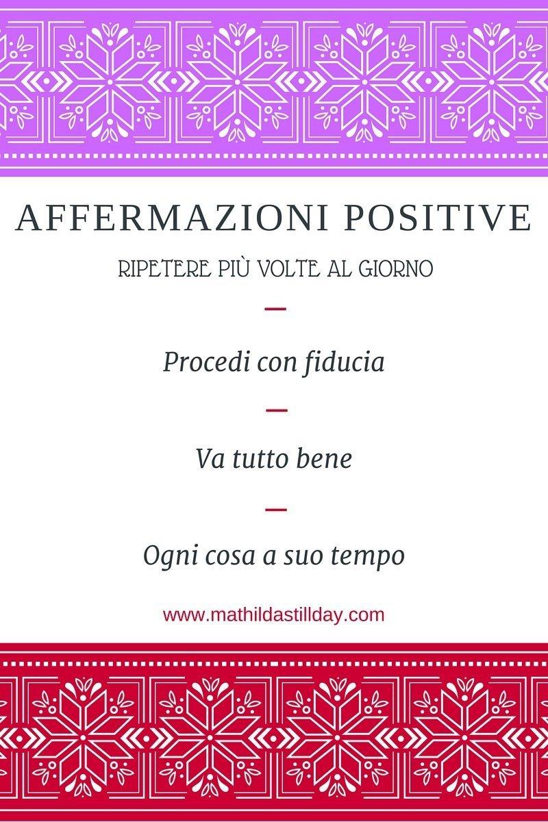 Affermazioni positive
