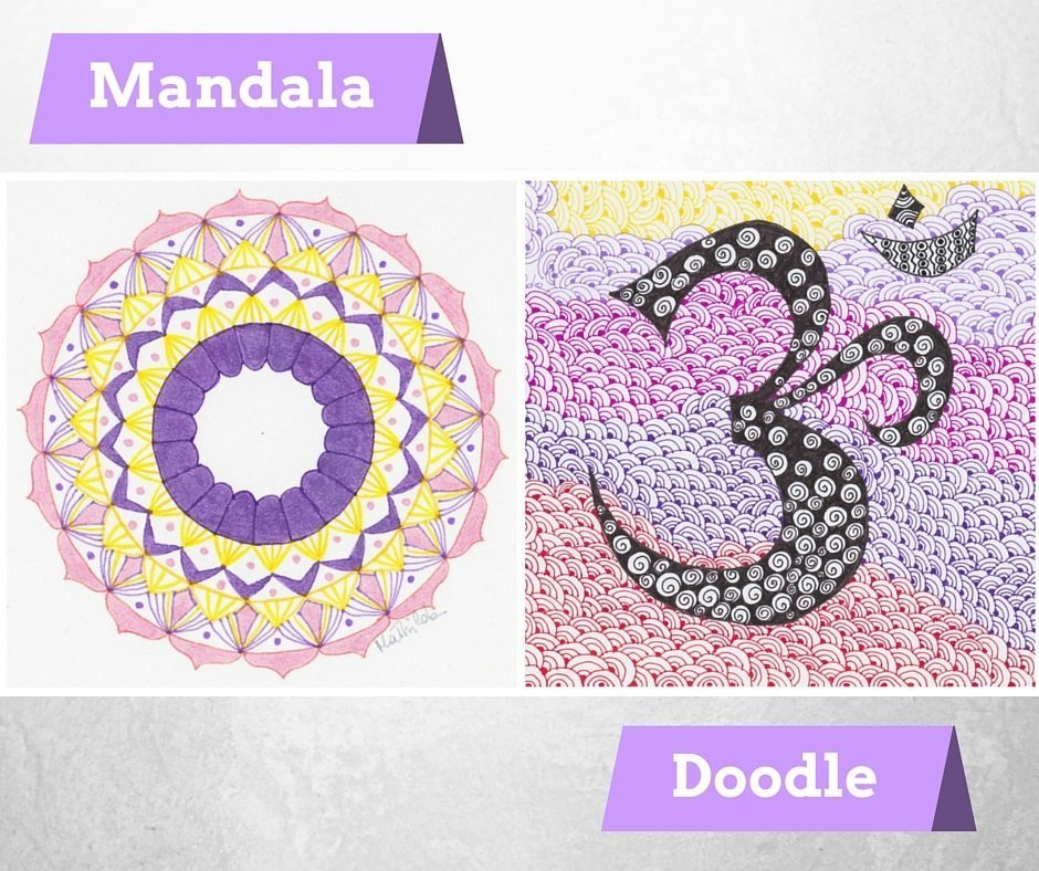mandala o doodle