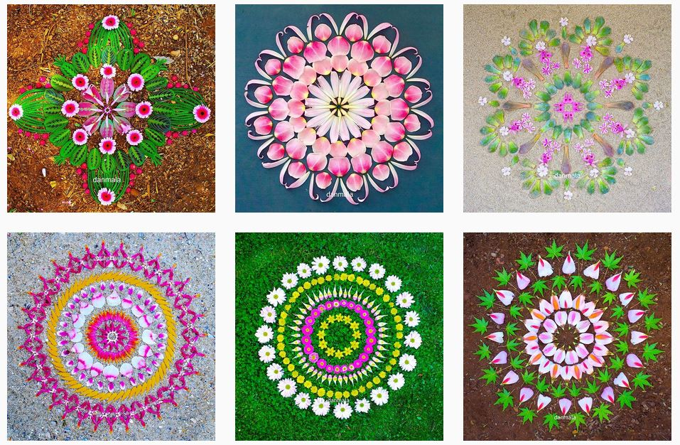 Mandala: materiali diversi per creare