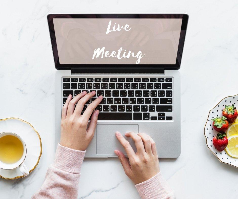 Live Meeting - incontri crescita personale online