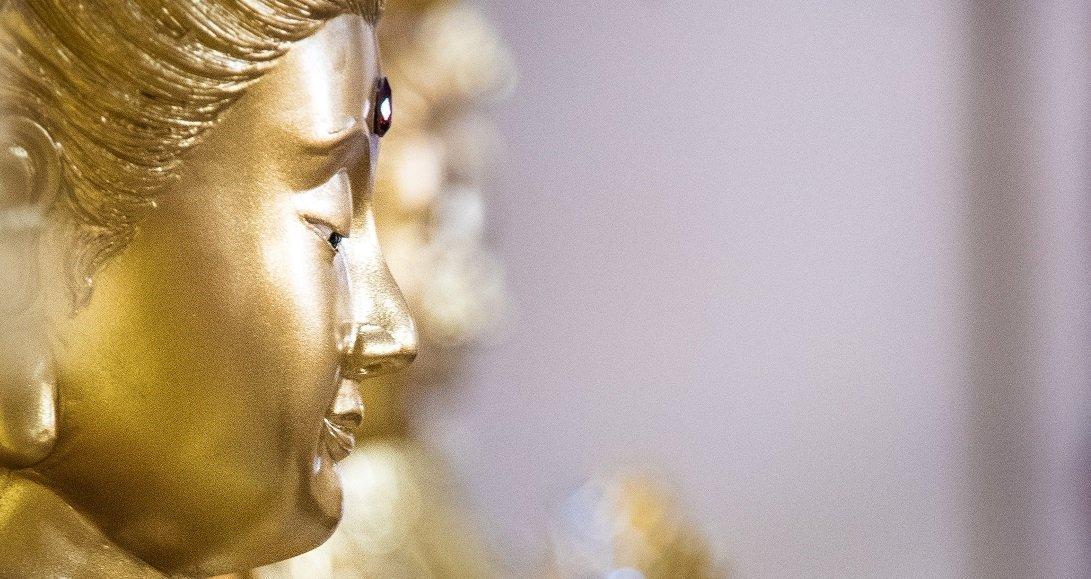 legge di attrazione - Budda d'oro