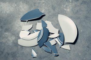 tazza rotta - errori e fallimento