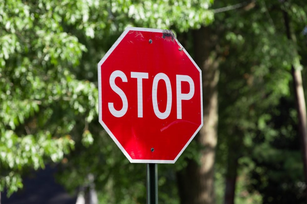 segnale stop